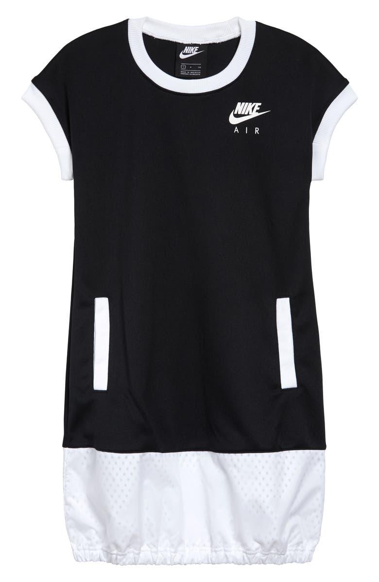 NIKE Kids' Sportswear Air T-Shirt Dress, Main, color, 010