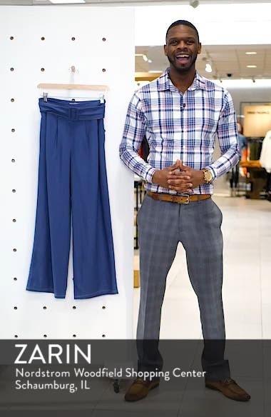Belted Wide Leg Pants, sales video thumbnail