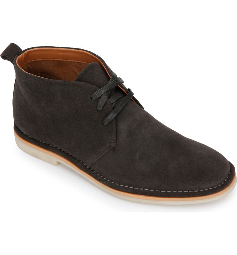 KENNETH COLE NEW YORK Desert Chukka Boot, Main, color, GREY SUEDE