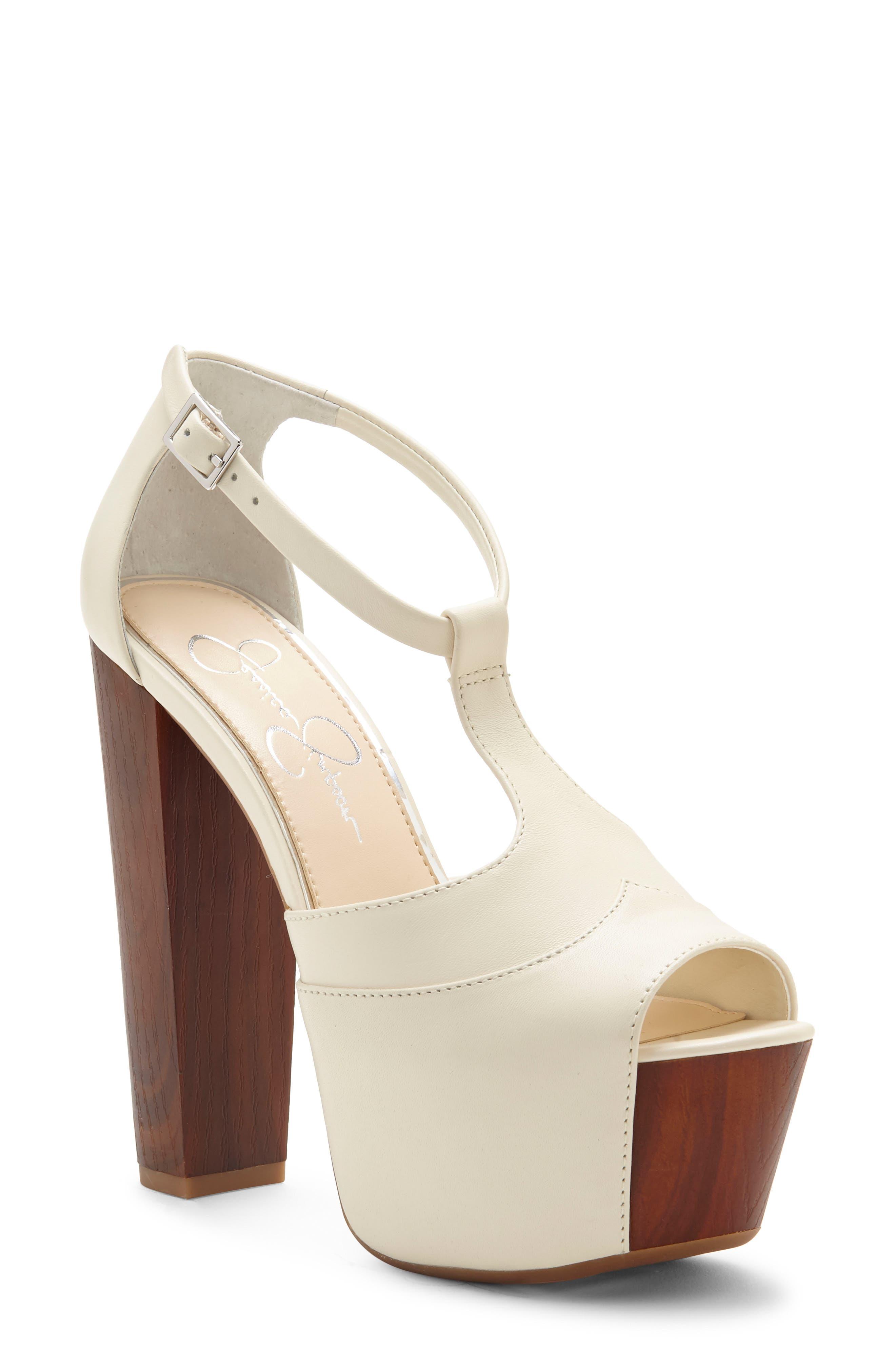 67e9422bae Jessica Simpson 'Dany' Sandal, Ivory