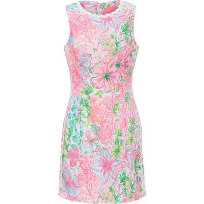 Lilly Pulitzer Mila Sleeveless Stretch Sheath Dress, Pink