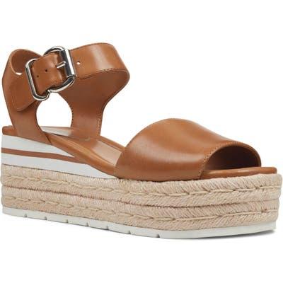 Nine West Layla Espadrille Wedge Sandal, Brown