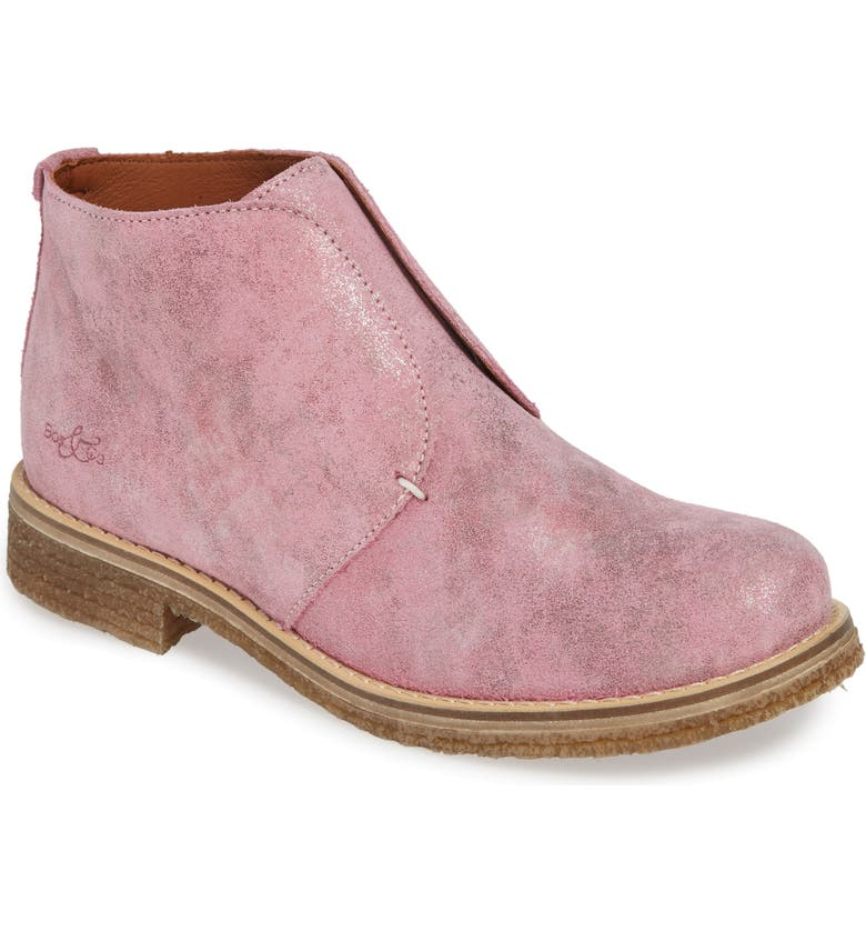 BOS. & CO. Tvol Laceless Chukka Boot, Main, color, ROSE VINTAGE LEATHER