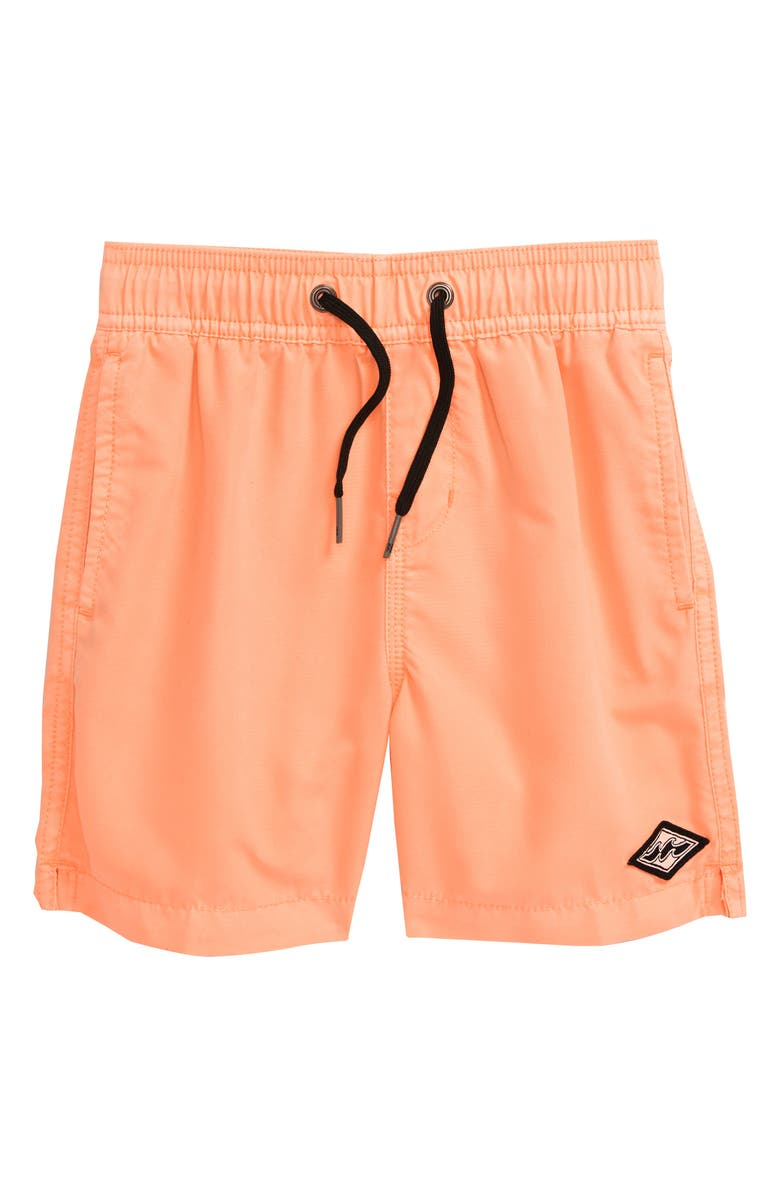 BILLABONG All Day Layback Swim Trunks, Main, color, NEO ORANGE