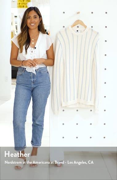 Chunky Stripe Sweater, sales video thumbnail