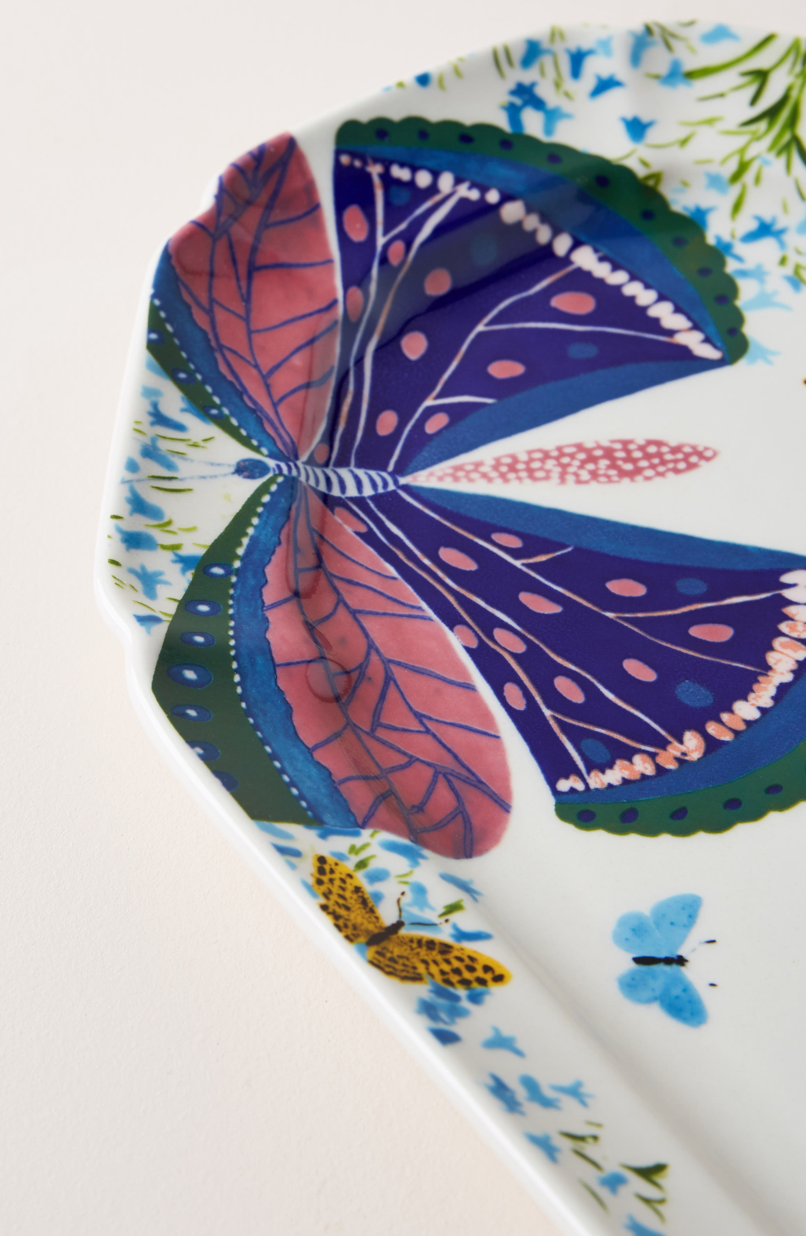 ,                             Paule Marrot Butterfly Platter,                             Alternate thumbnail 2, color,                             PURPLE