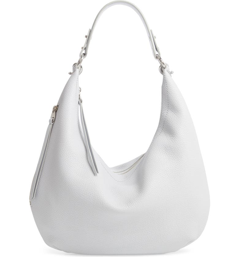 REBECCA MINKOFF Michelle Leather Hobo, Main, color, 021