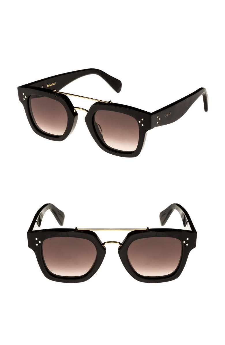 9101036e55 Céline 47mm Gradient Square Sunglasses