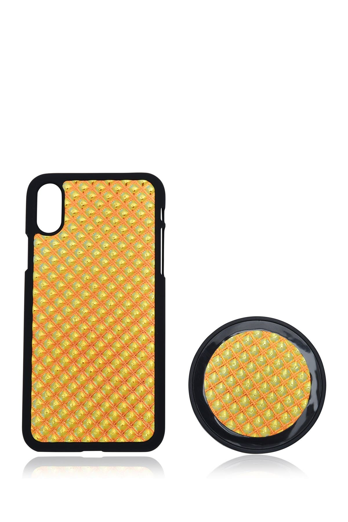 Image of Tech Essentials iPhone X Case Wireless Charging Pad 2-Piece Set