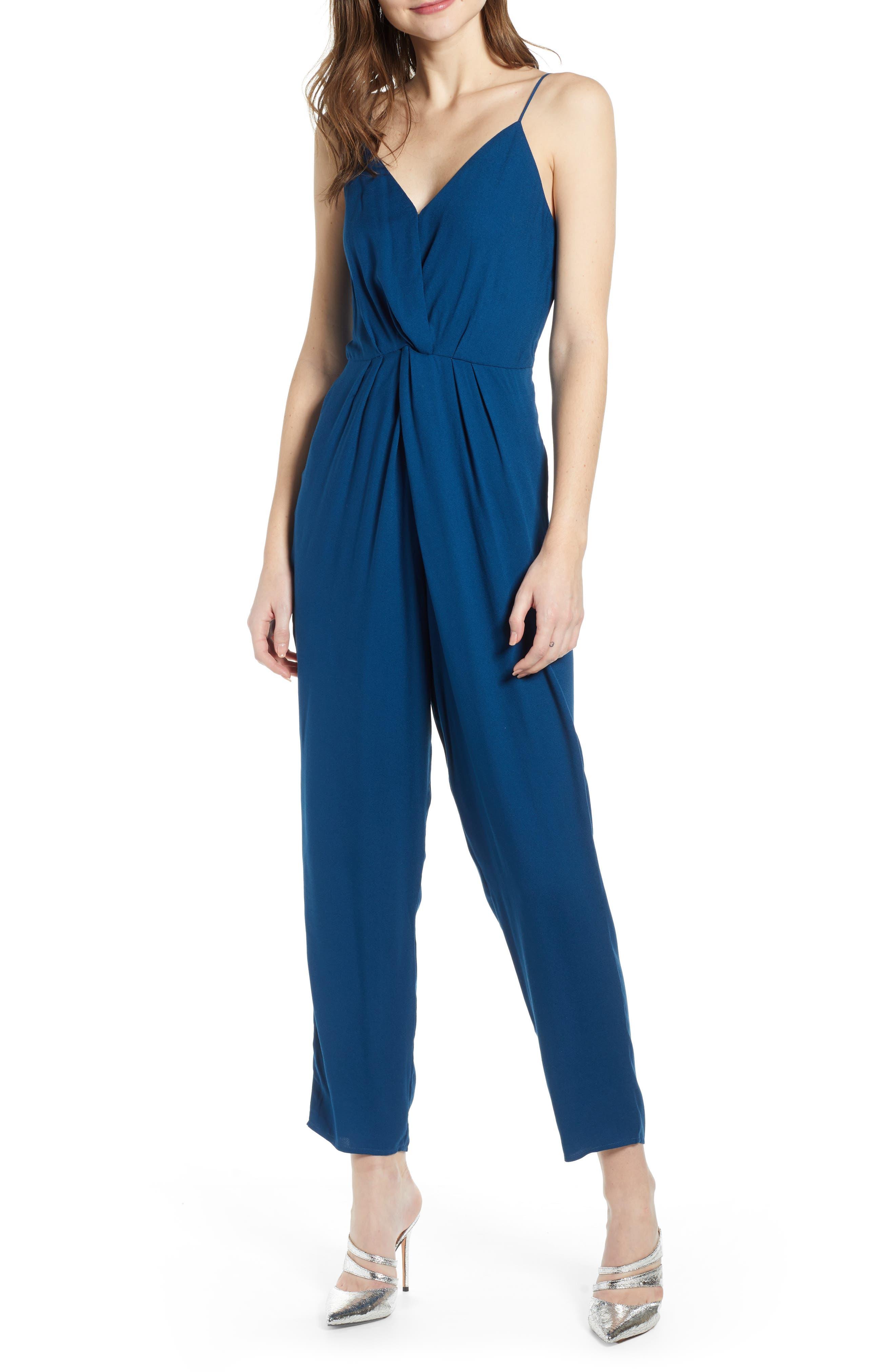 Leith Sleeveless Twist Front Jumpsuit