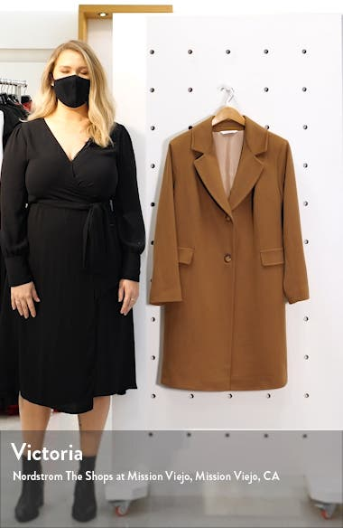 Notch Collar Walking Coat, sales video thumbnail