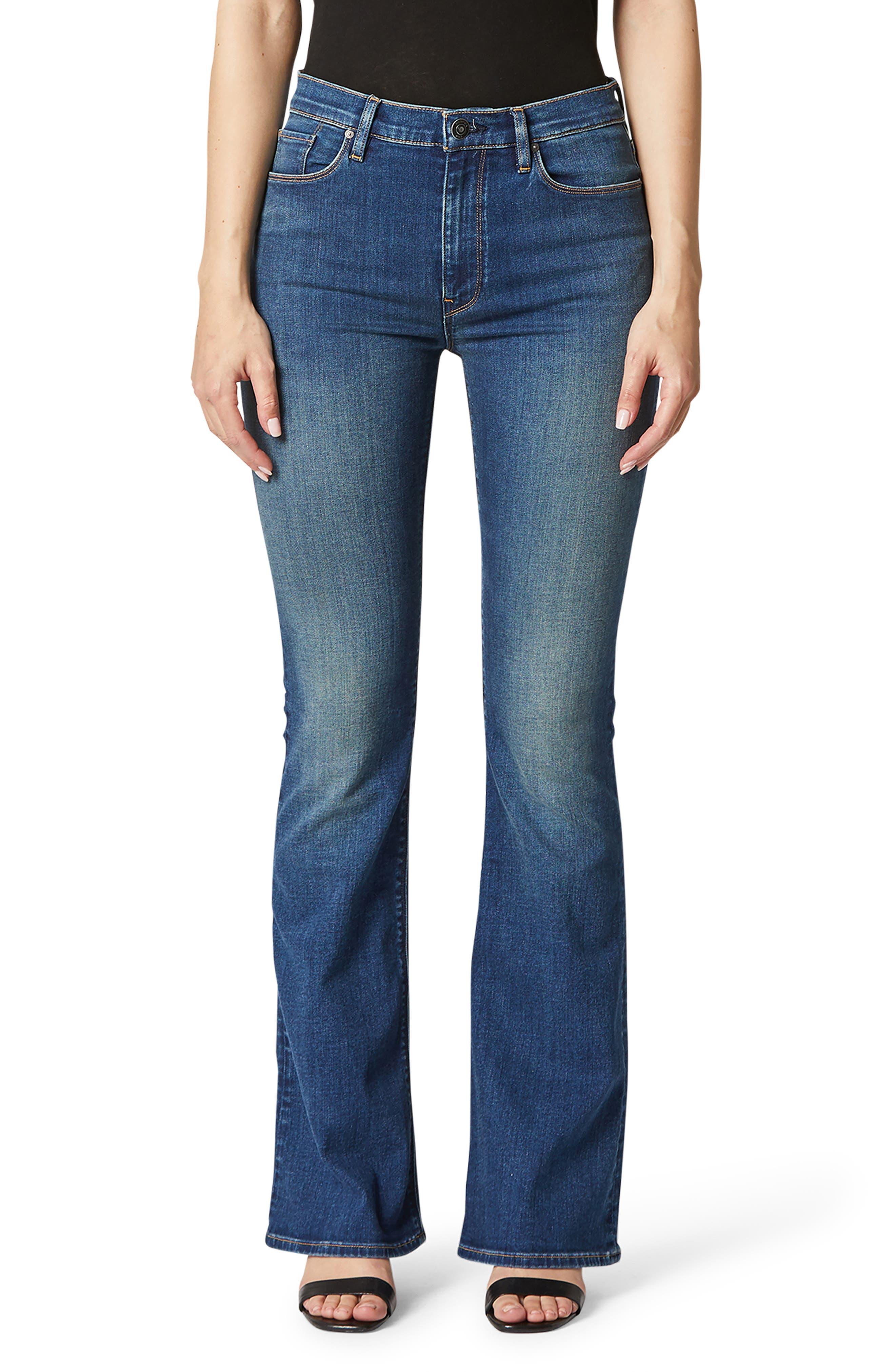 Petite Women's Hudson Jeans Barbara High Waist Bootcut Jeans