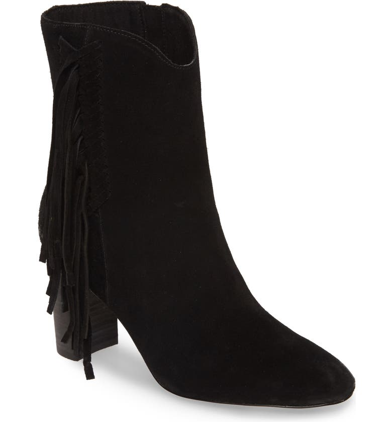 CHARLES BY CHARLES DAVID Boulder Bootie, Main, color, BLACK SUEDE