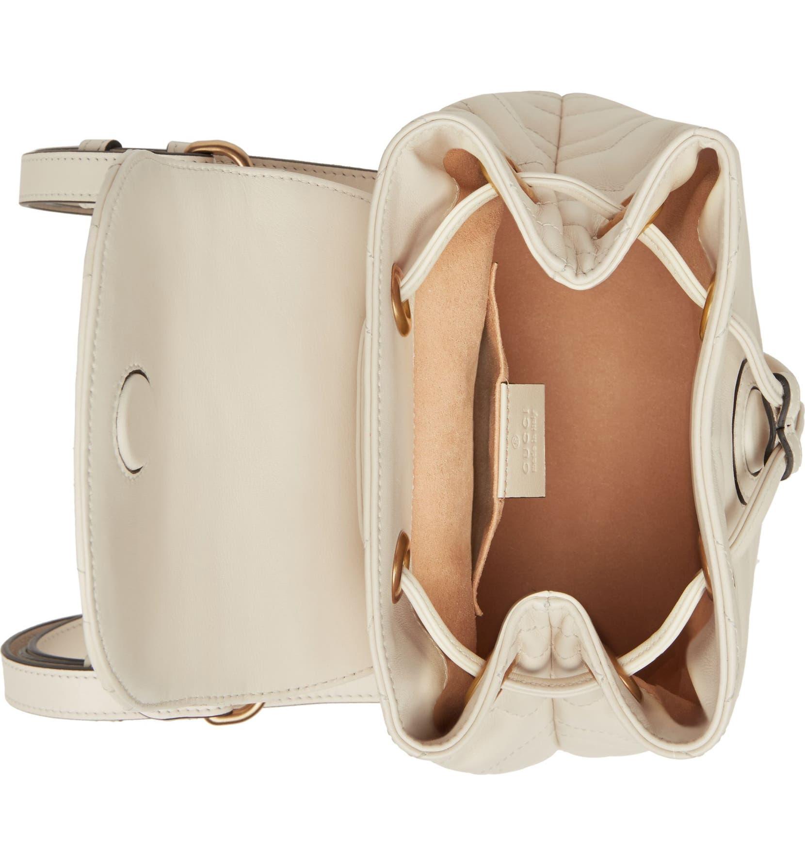 58c0fe39b Gucci GG Marmont 2.0 Matelassé Leather Mini Backpack | Nordstrom