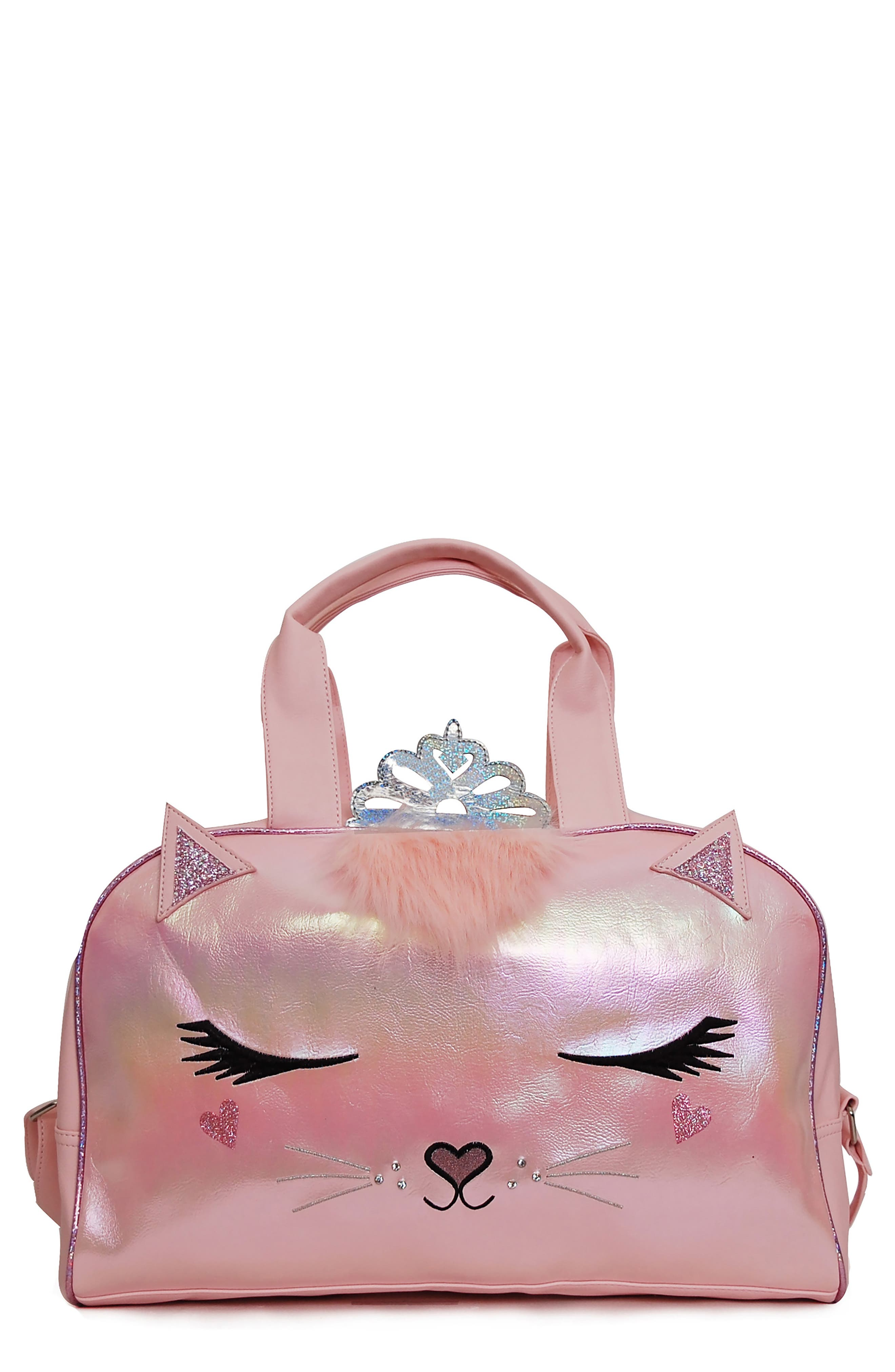 Image of OMG! Accessories Princess Bella Kitty Duffle Bag