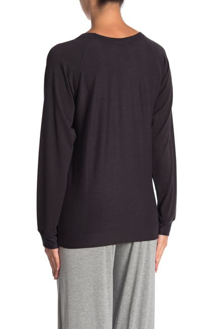 Image of French Connection Paneled Crew Neck Pullover