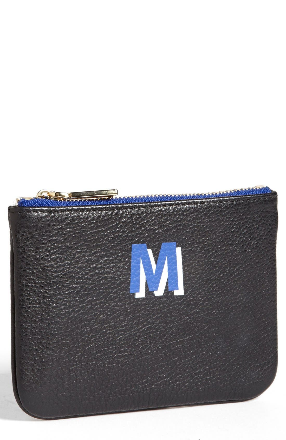 ,                             'Cory - A-Z' Leather Pouch,                             Main thumbnail 40, color,                             013