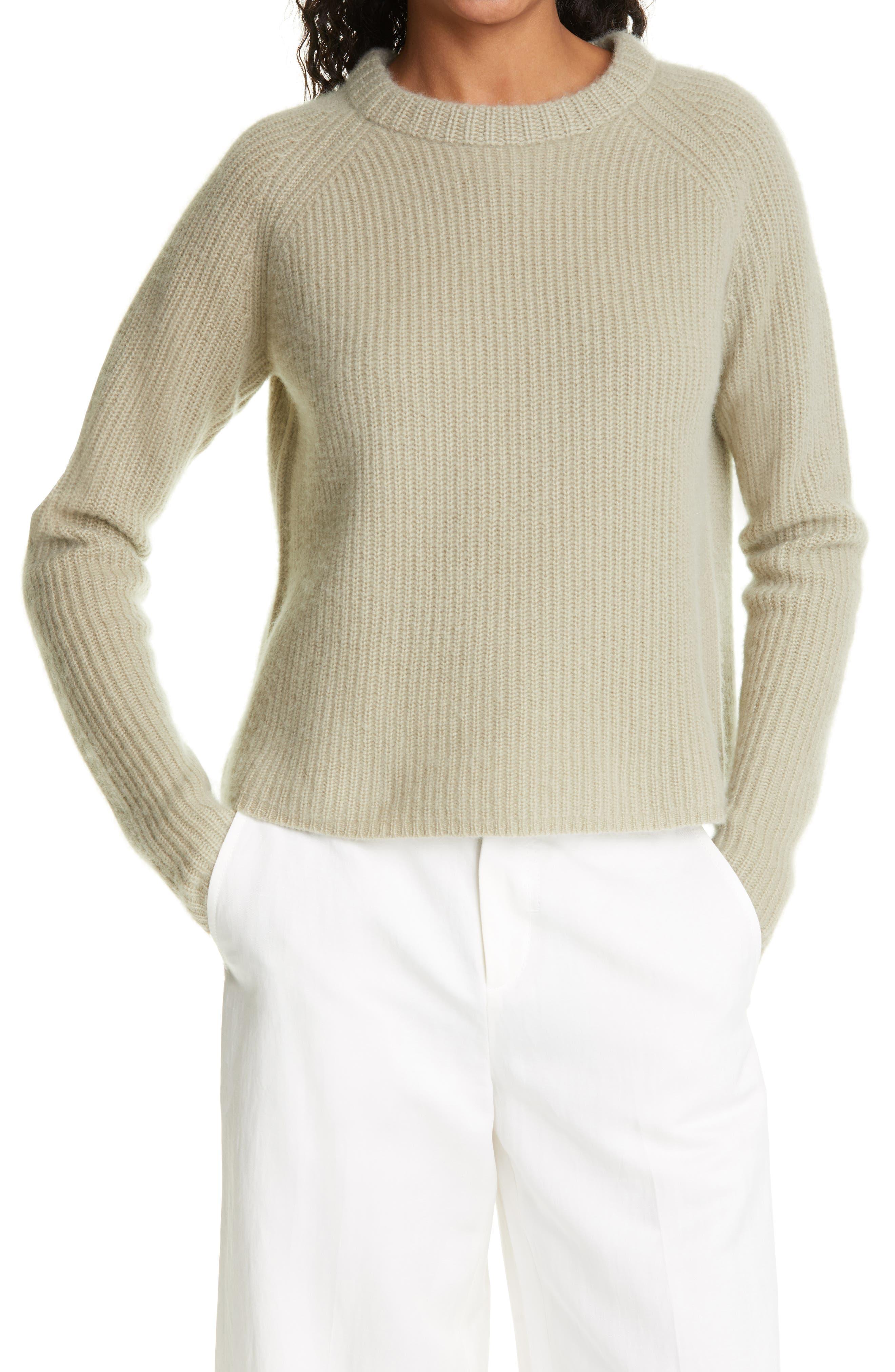 Rib Cashmere Sweater