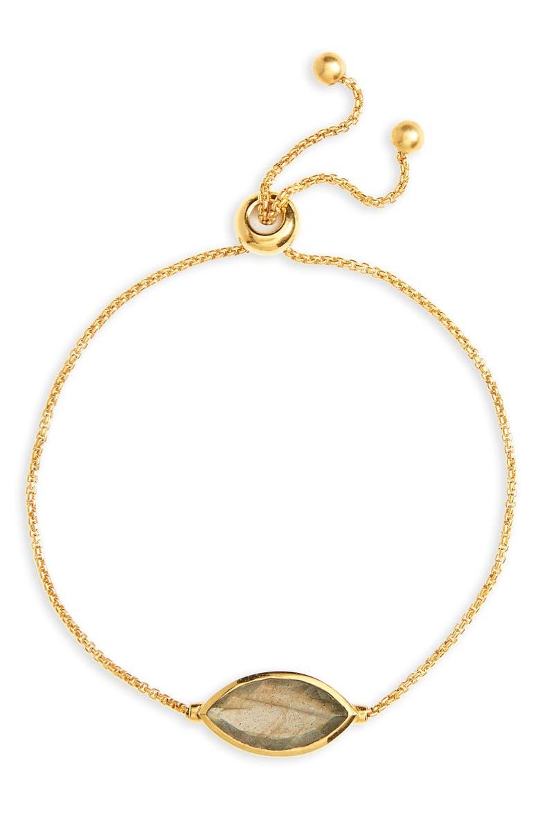 DEAN DAVIDSON Lotus Chain Bracelet, Main, color, 710