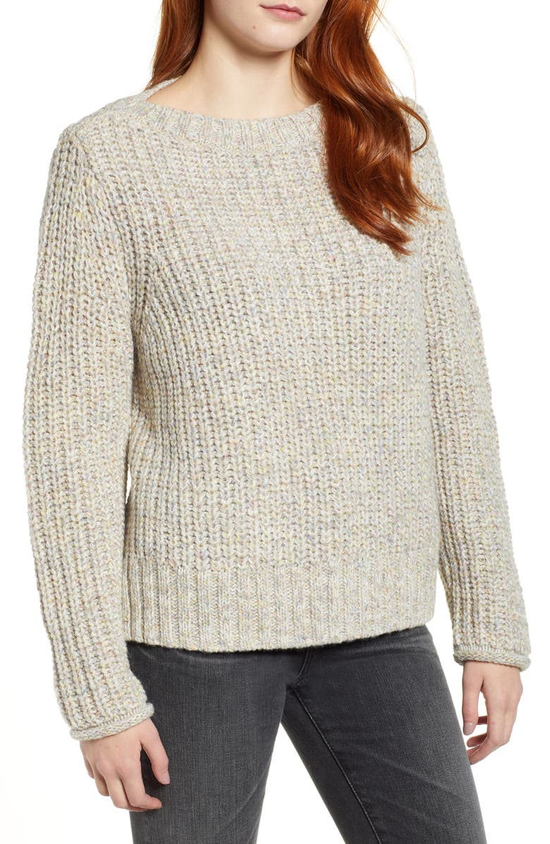 CASLON<SUP>®</SUP> Boat Neck Sweater, Main, color, 251