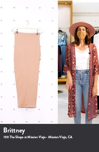 Hourglass Midi Skirt, sales video thumbnail