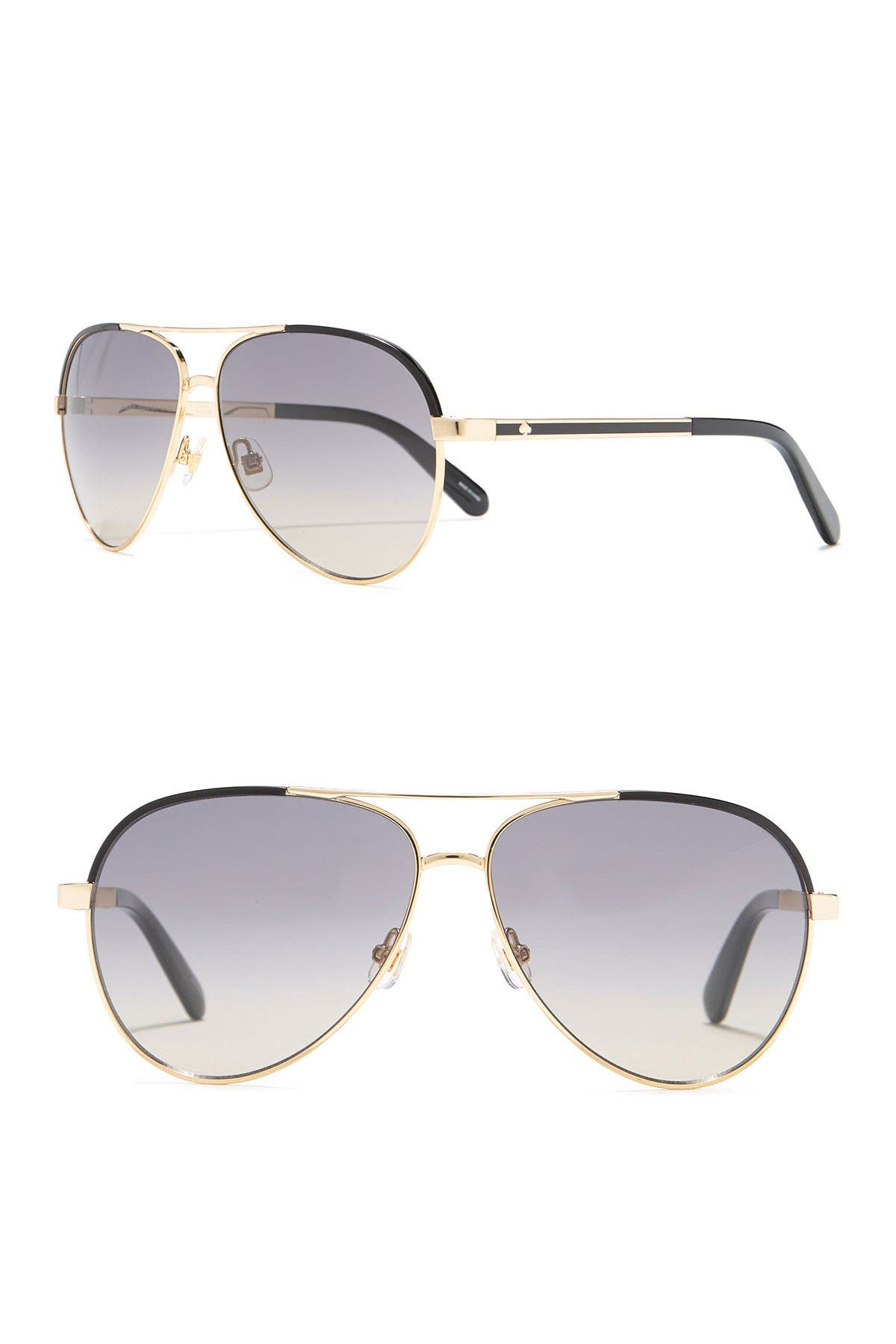 Image of kate spade new york amarissa 59mm aviator sunglasses