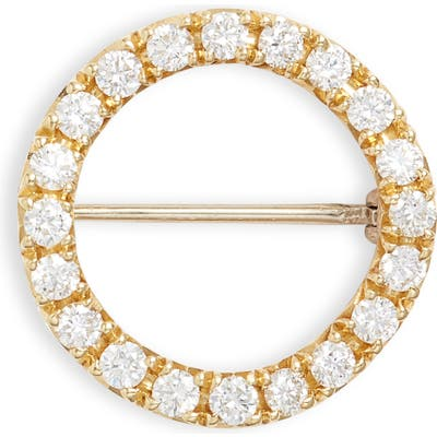 Bony Levy 20Th Anniversary Large Diamond Circle Pin (Nordstrom Exclusive)