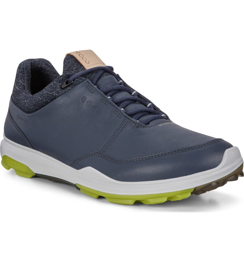 ECCO BIOM Hybrid 3 Gore-Tex<sup>®</sup> Golf Shoe, Main, color, OMBRE/ KIWI
