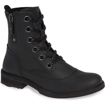 Fly London Roda Zip Waterproof Boot, Black