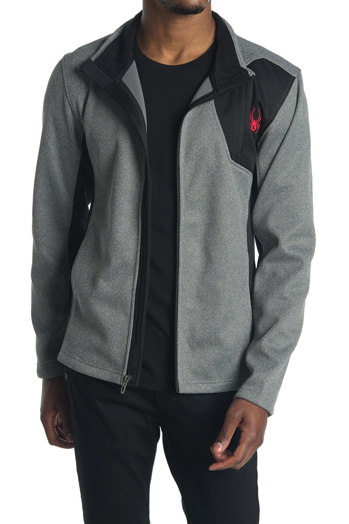 Image of SPYDER Raider Full Zip Front Jacket