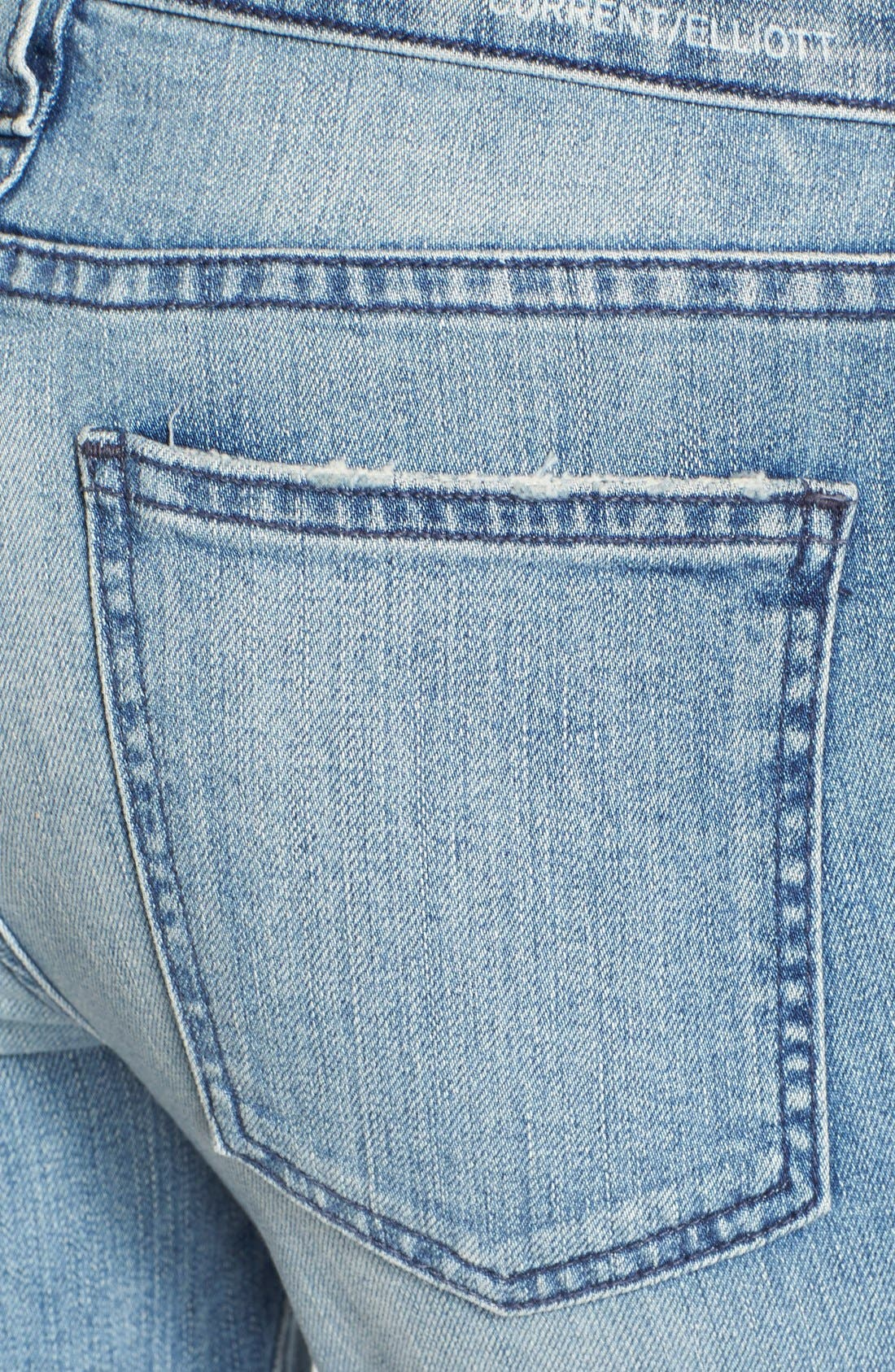 ,                             'The Stiletto' Destroyed Skinny Jeans,                             Alternate thumbnail 24, color,                             474