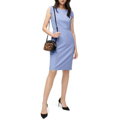 J.crew Resume Dress, Blue