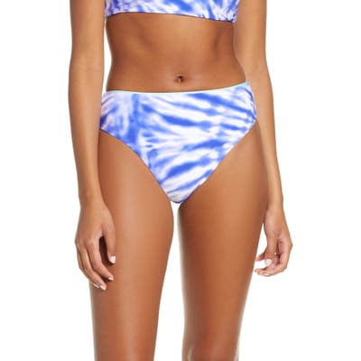 Seafolly Beach Break High Waist Bikini Bottoms, US / 6 AU - Blue