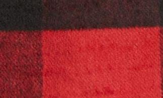 RED- BLACK BUFFALO CHECK