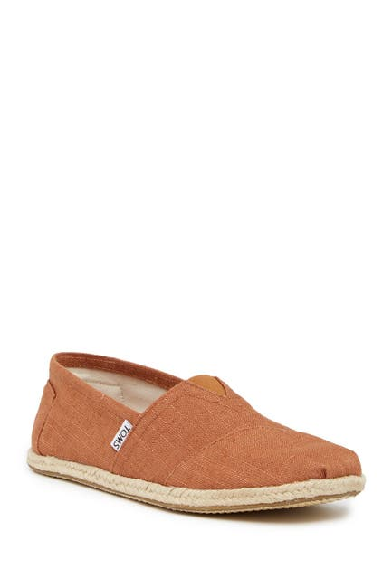 Image of TOMS Linen Classic Slip-On Shoe