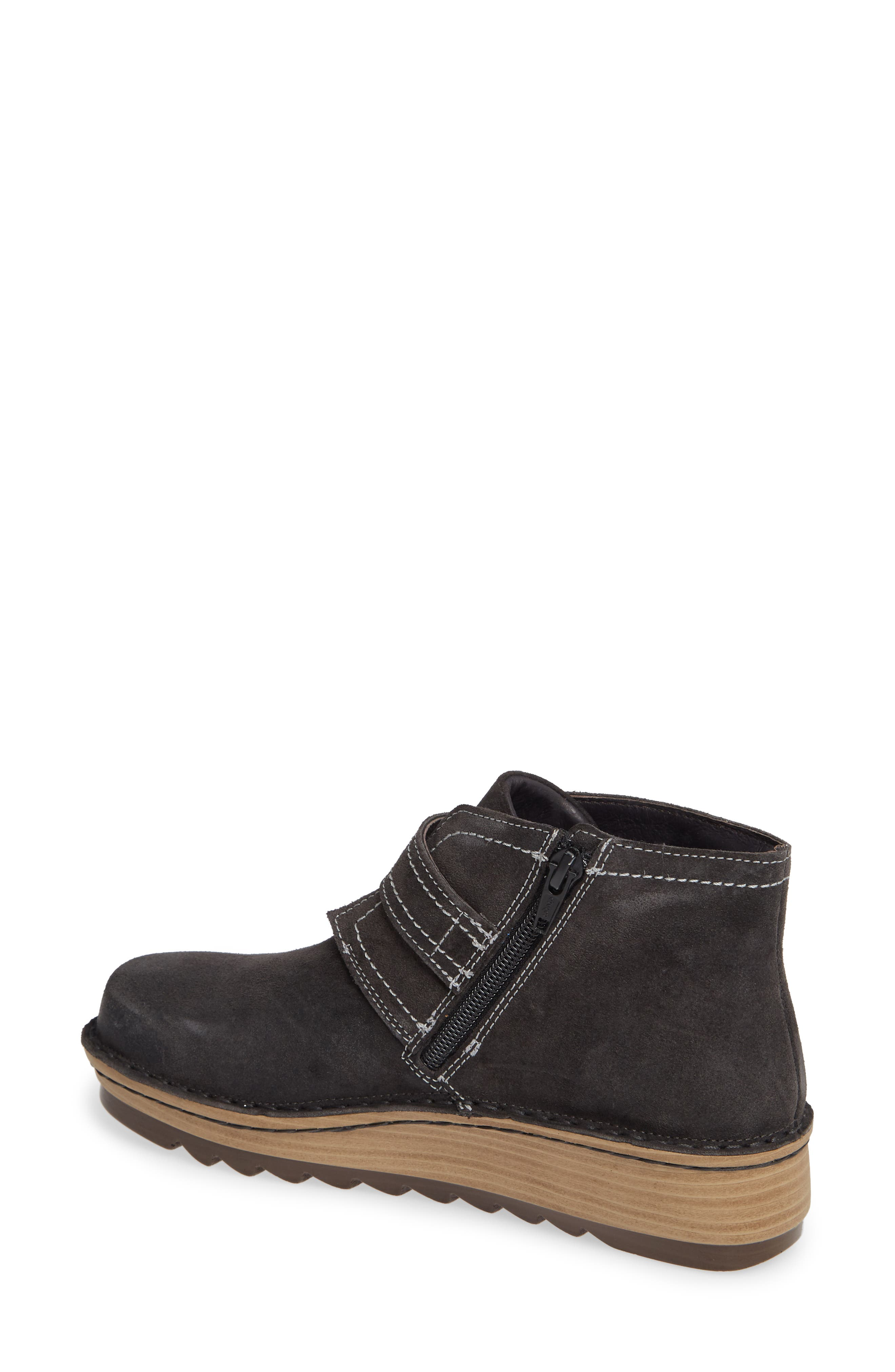 ,                             Louisa Wedge Bootie,                             Alternate thumbnail 2, color,                             OILY MIDNIGHT SUEDE