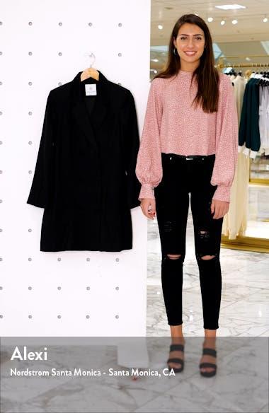 Francoise Long Sleeve Blazer Minidress, sales video thumbnail