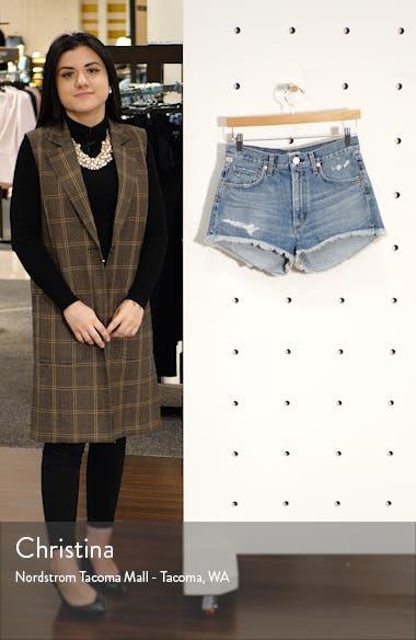 Danielle Cutoff Denim Shorts, sales video thumbnail