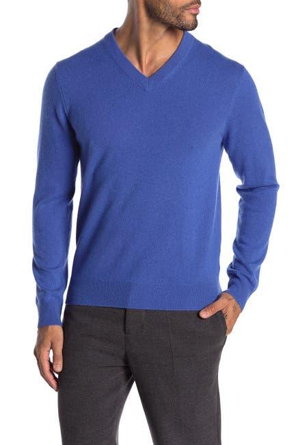 Image of Quinn Cashmere V-Neck Sweater
