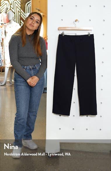 Patch Pocket Stretch Cotton Twill Pants, sales video thumbnail