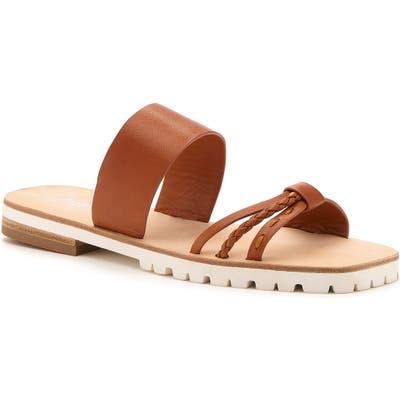 Botkier Moira Slide Sandal, Brown