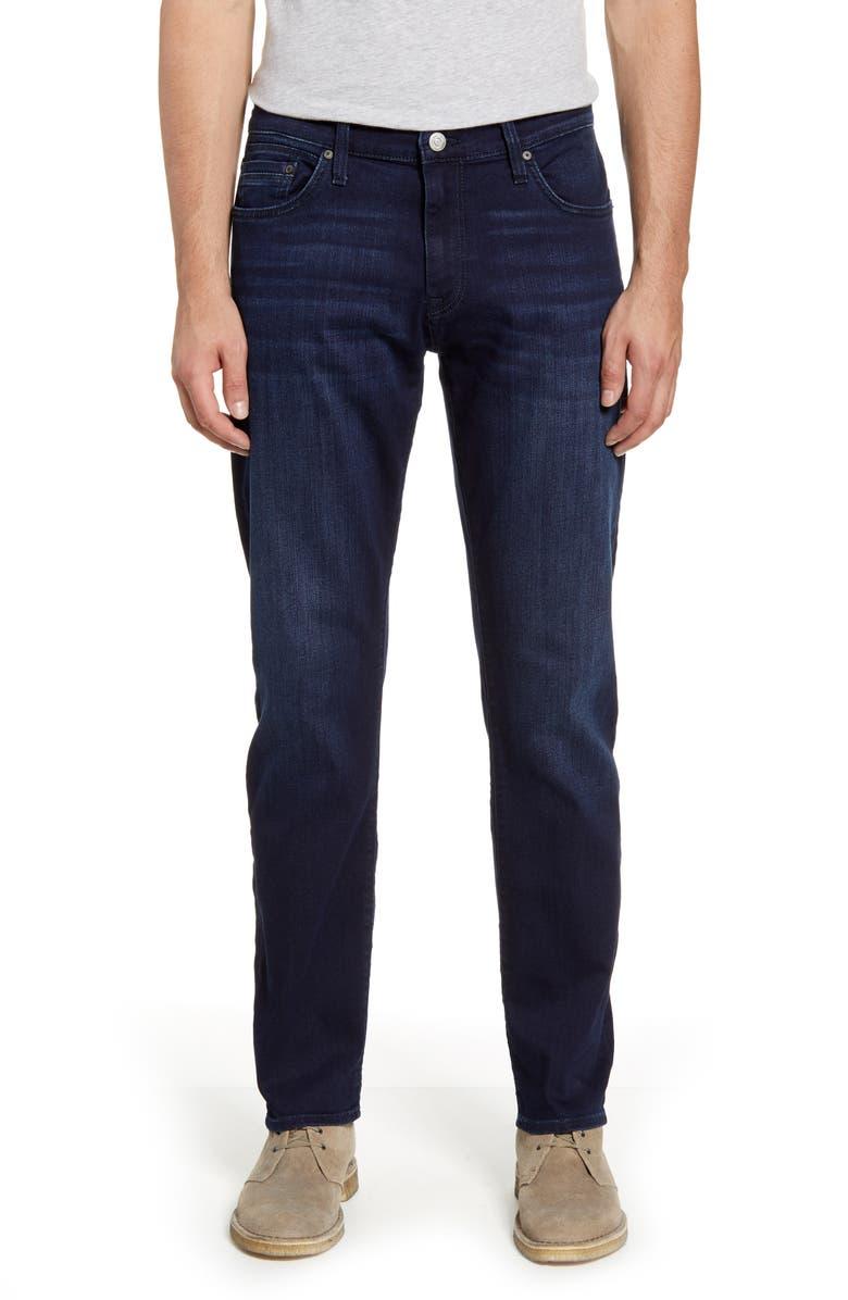 MAVI JEANS Zach Modern Straight Leg Jeans, Main, color, INK FOGGY