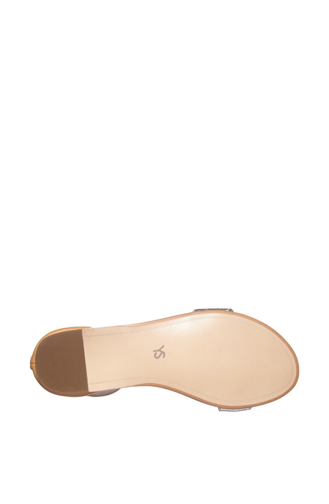 ,                             'Cambelle' Ankle Strap Sandal,                             Alternate thumbnail 13, color,                             040