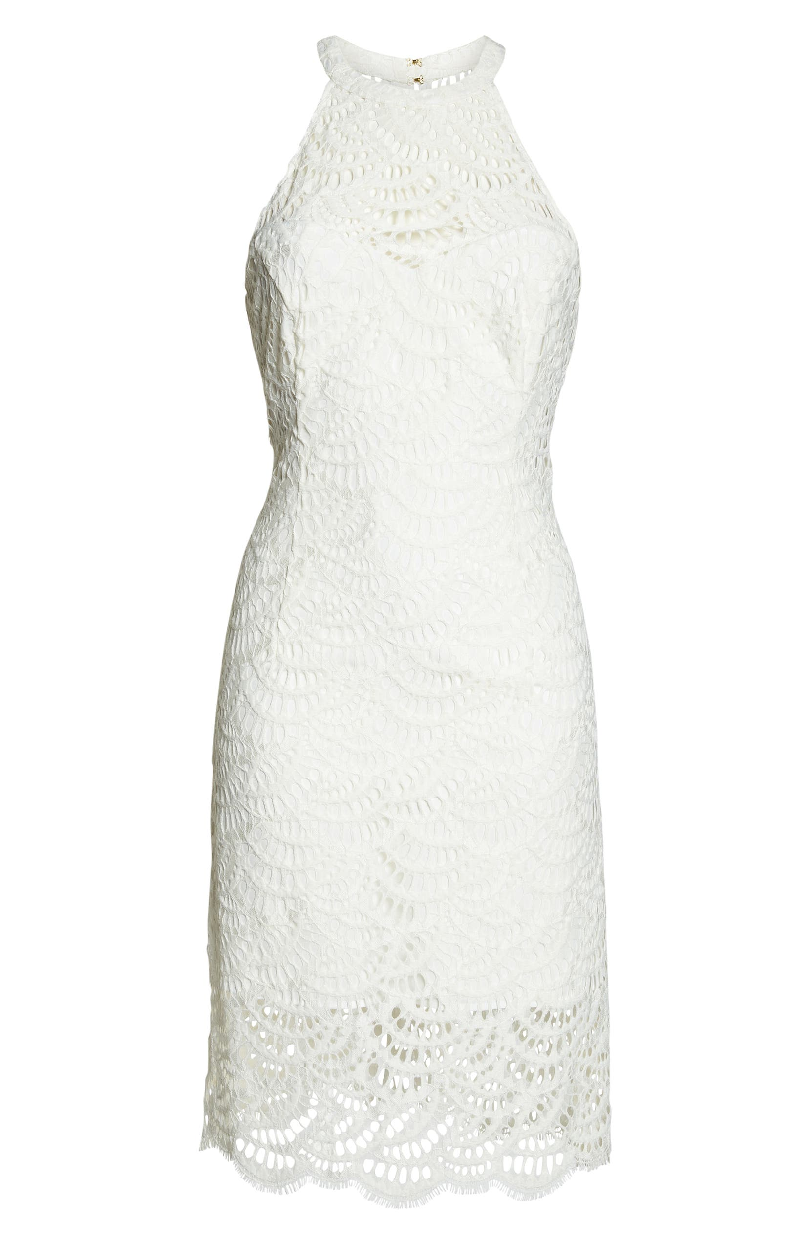 Kenna Lace Sheath Dress