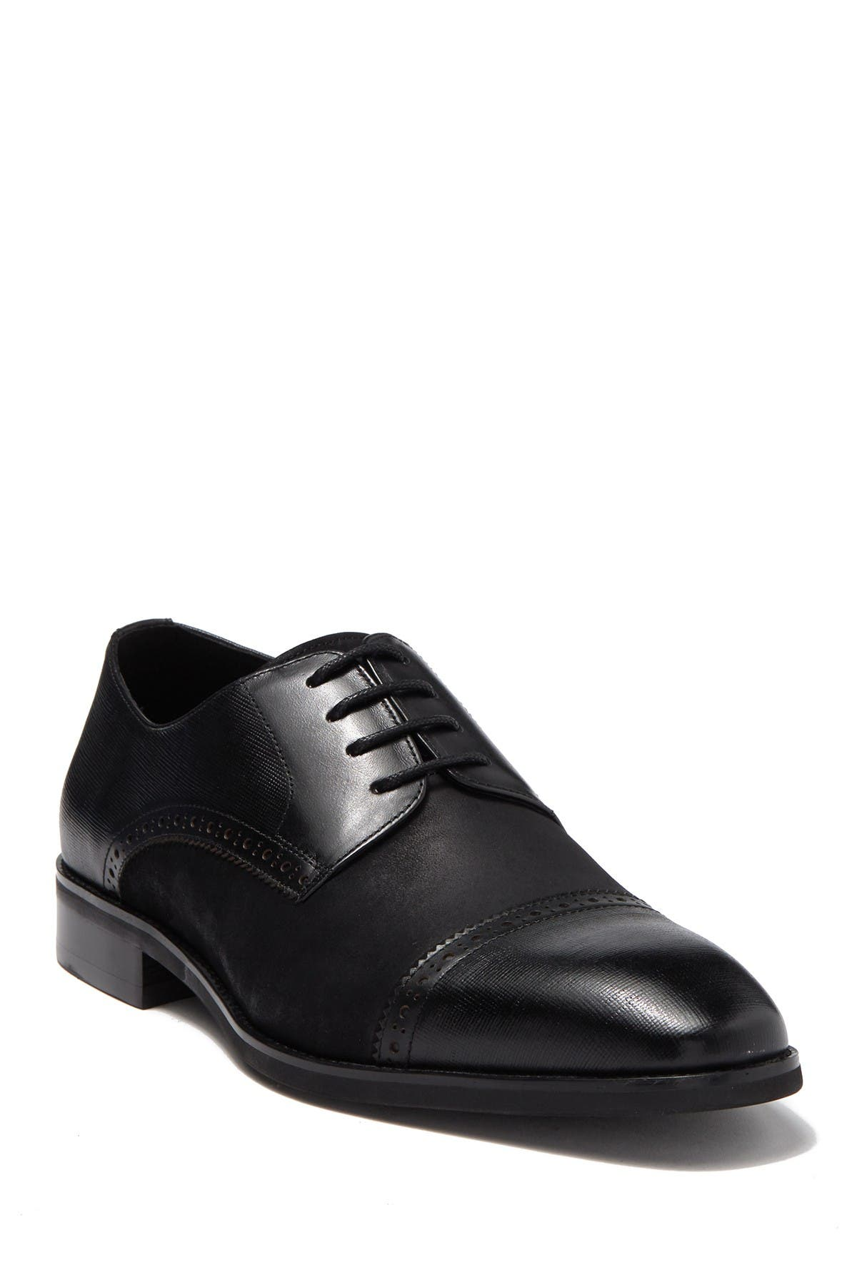 Image of Karl Lagerfeld Paris Contrast Cap Toe Dress Shoe