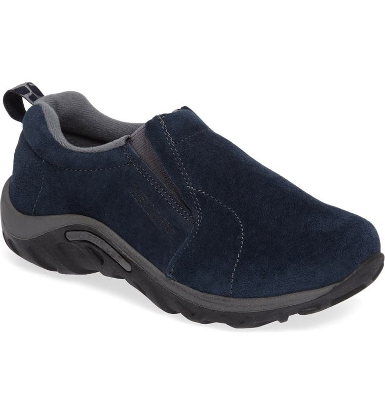 MERRELL Jungle Moc Slip-On Sneaker, Main, color, INK BLUE