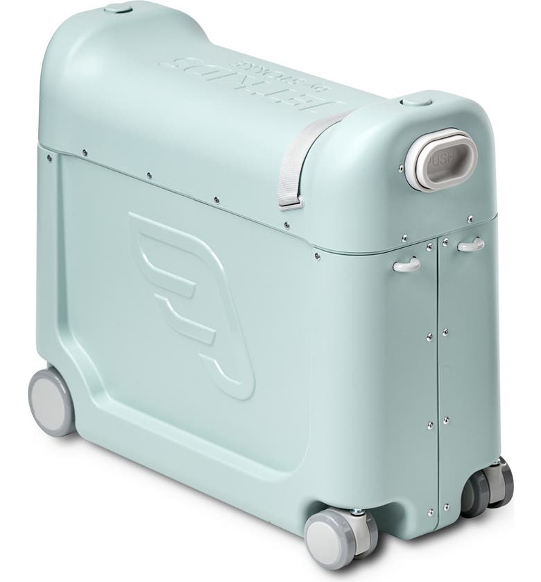 STOKKE Jetkids by Stokke Bedbox<sup>®</sup> Ride-On Carry-On Suitcase, Main, color, GREEN