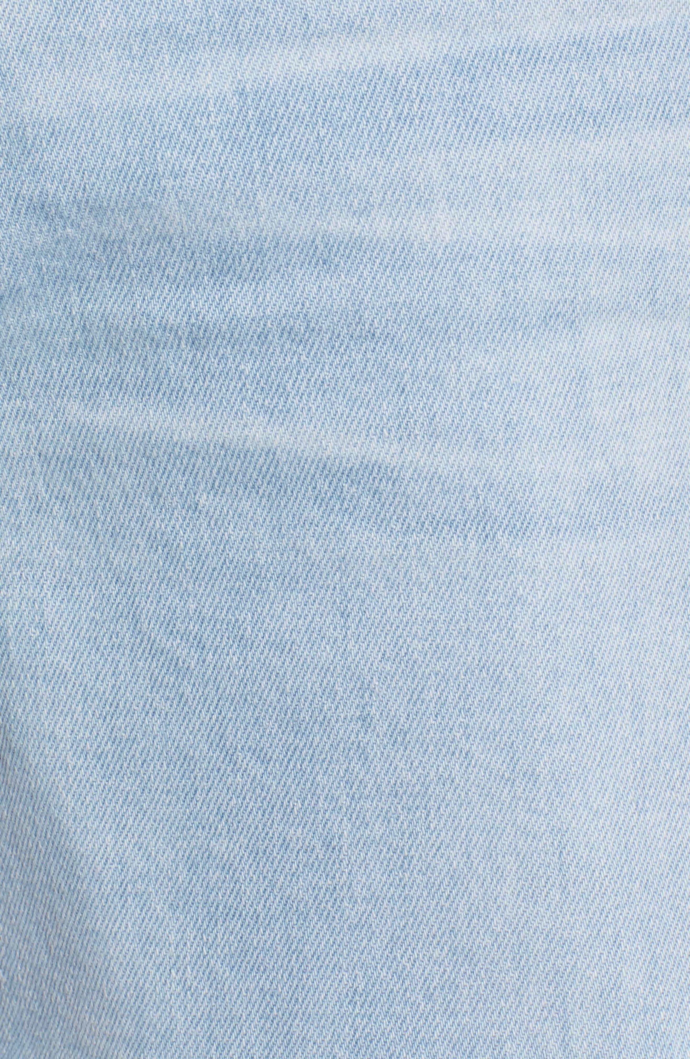 ,                             Hailey Boyfriend Cutoff Denim Shorts,                             Alternate thumbnail 6, color,                             26 YEARS SANGUINE