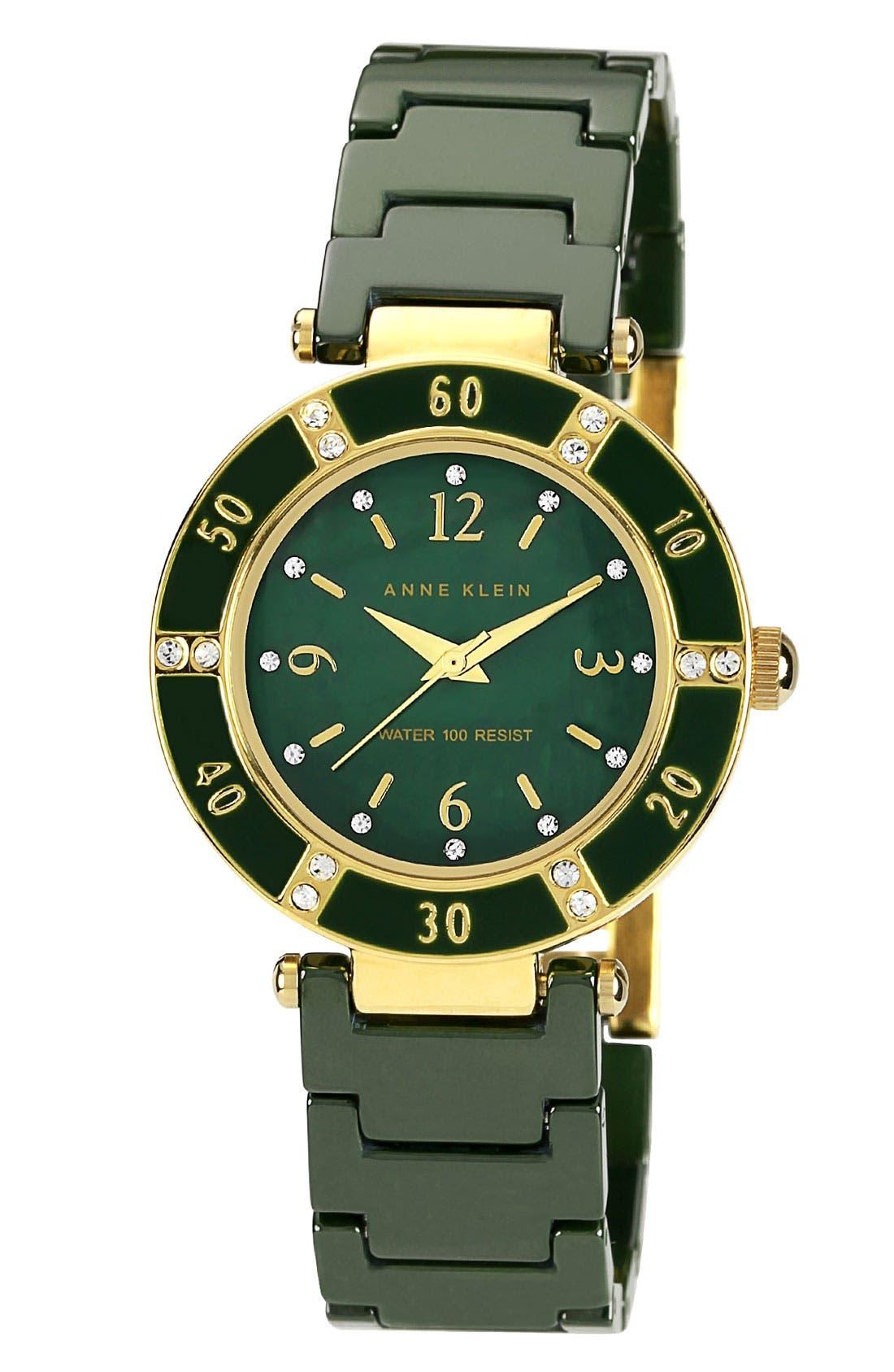 ,                             Round Ceramic Bracelet Watch, 31mm,                             Main thumbnail 11, color,                             300