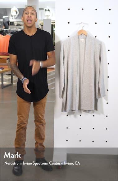 Side Slit Organic Cotton Blend Jacket, sales video thumbnail